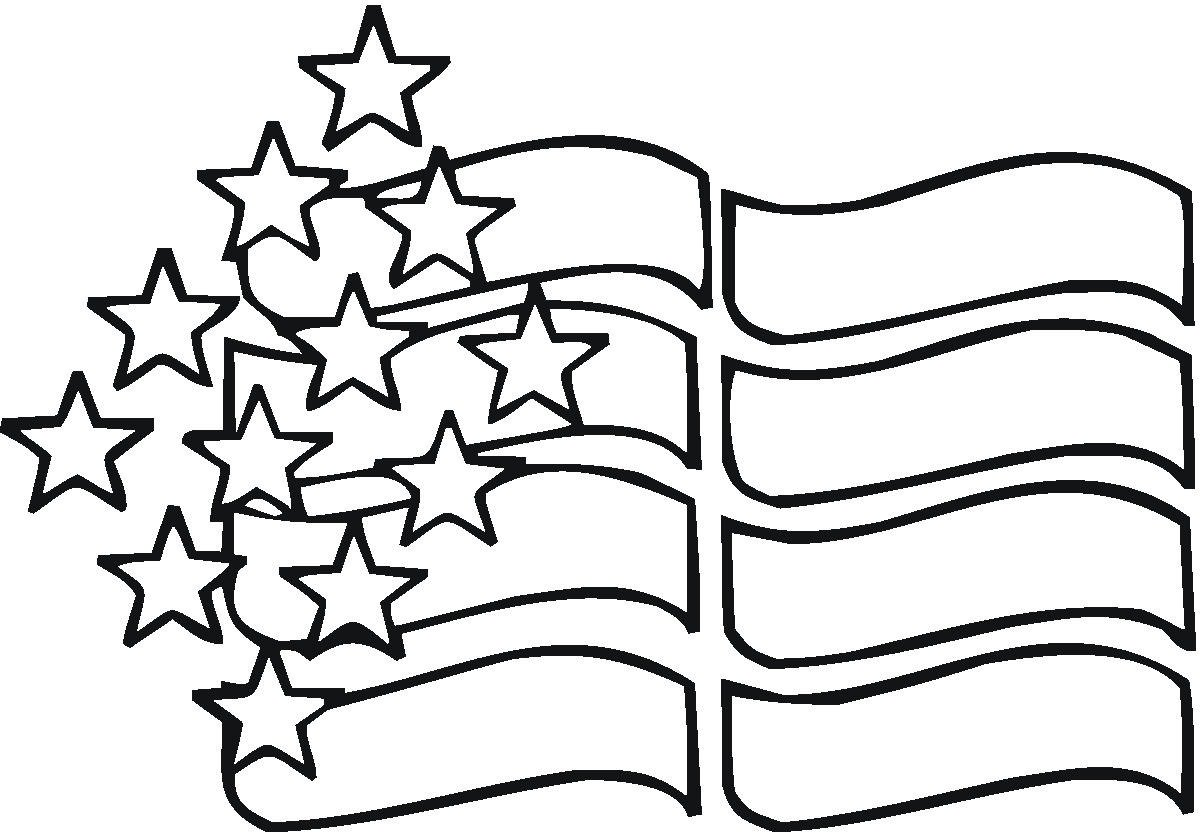 American Flag Printable Coloring Pages American Coloring Page