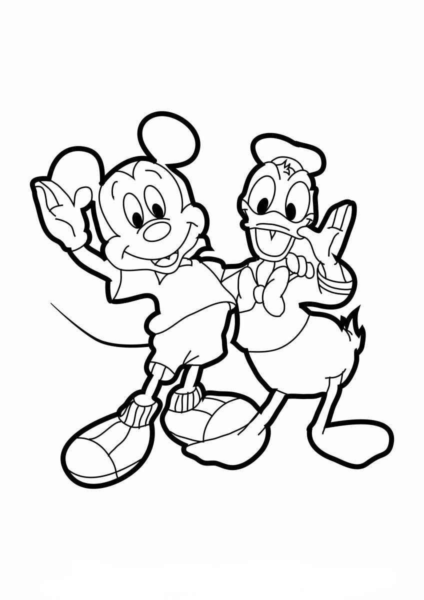 Image Result For Mickey Three Musketeers Coloring Pages