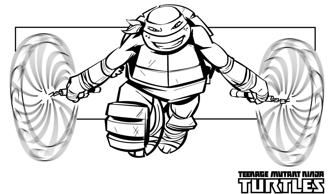 tmnt coloring pages ralph 2012 - photo#13