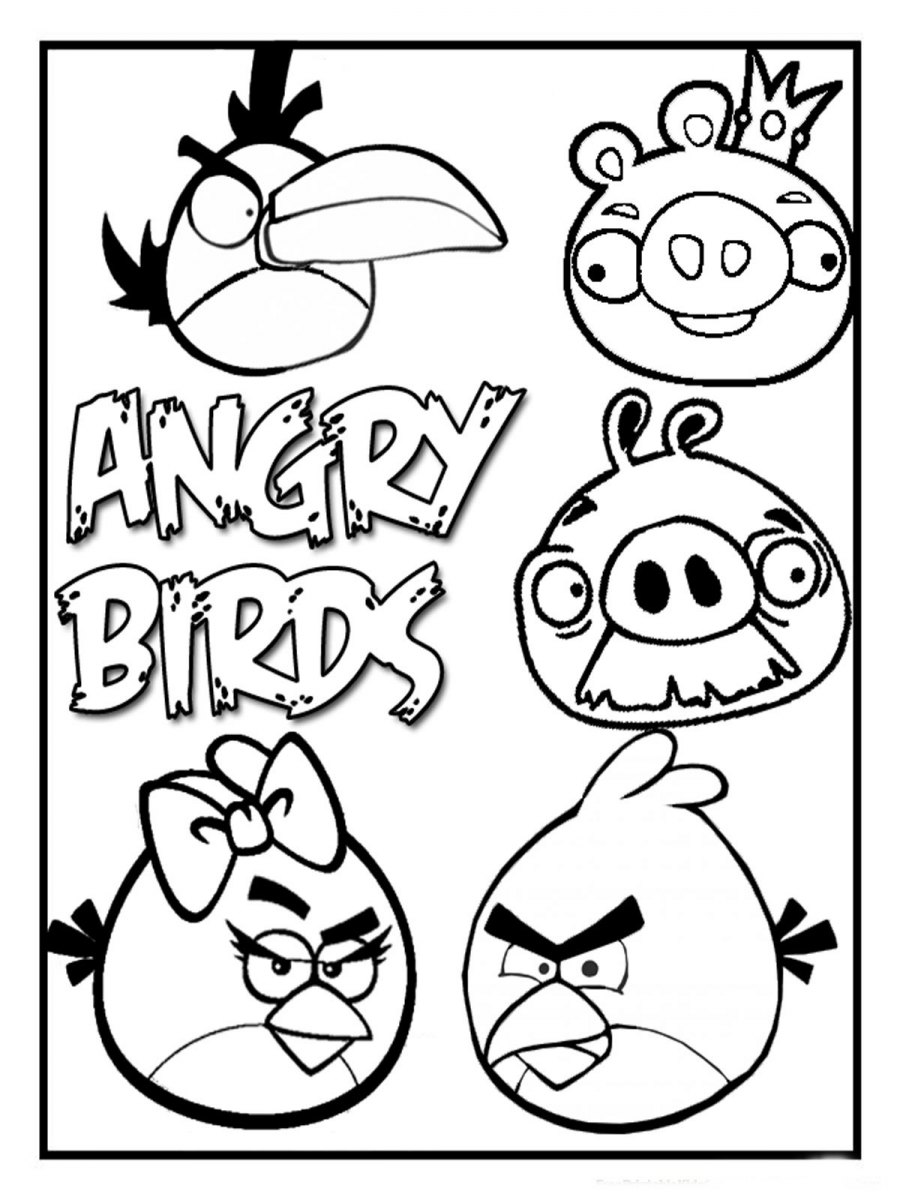 Personagens do Angry Birds
