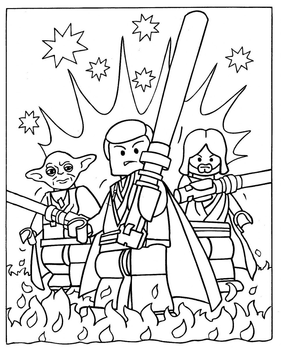 Free Coloring Pages Of Lego Birthday Card The Lego Coloring Pages