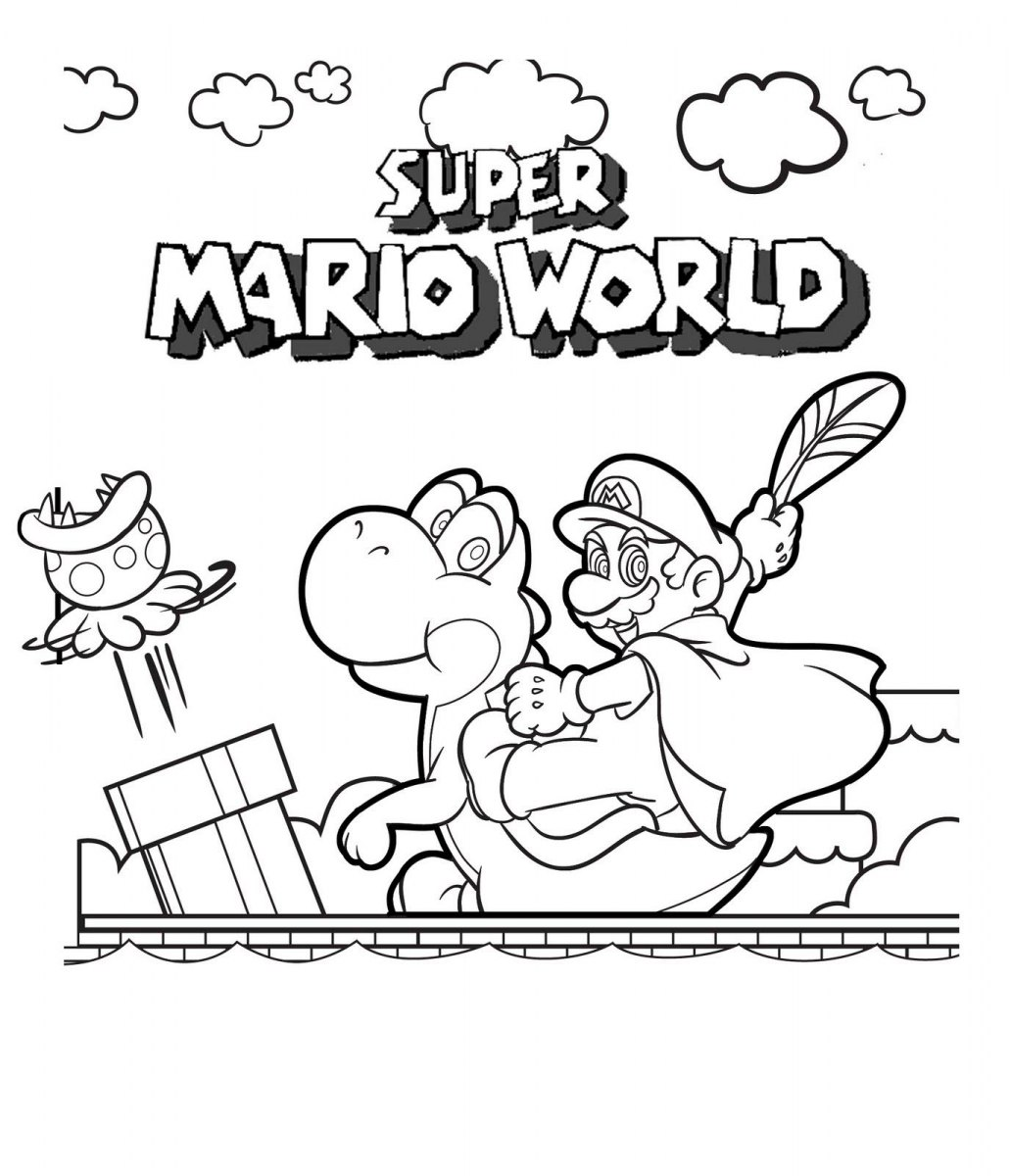 Super Mario World Hd Desenhoswiki Com