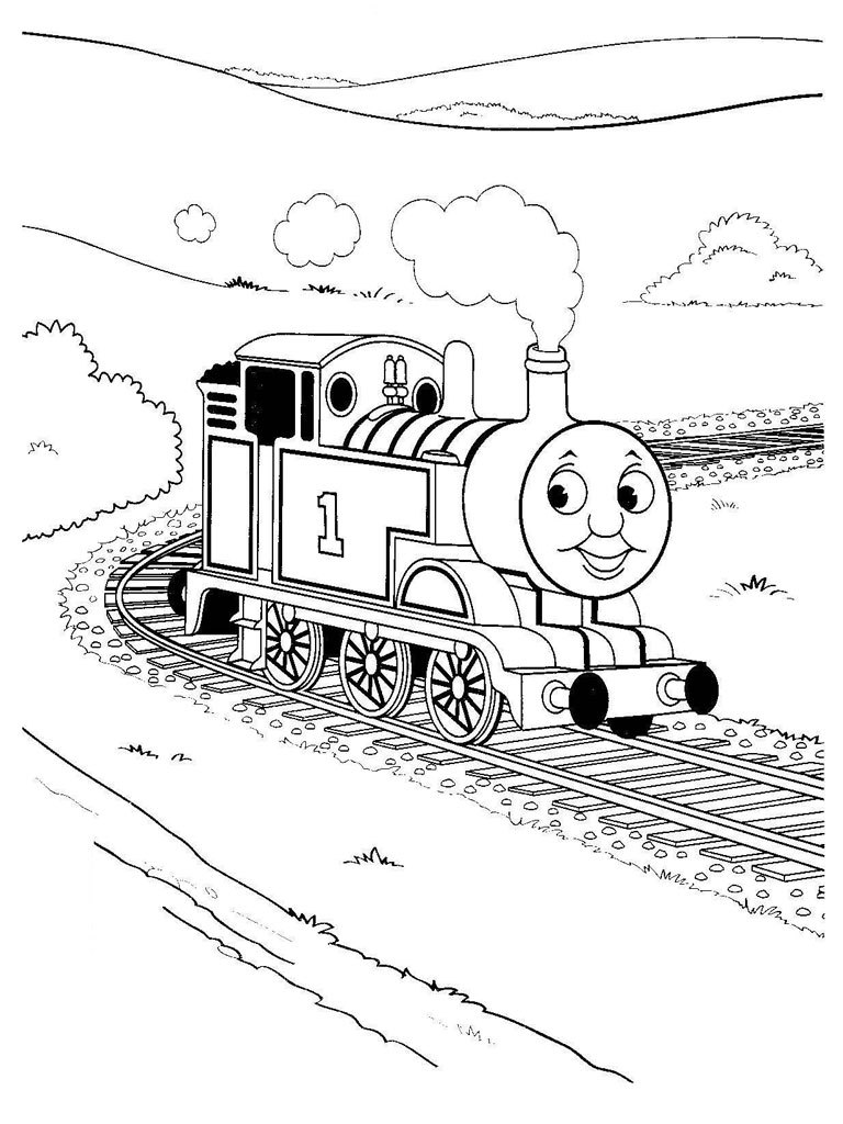 Thomas, a locomotiva